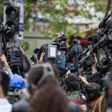D. Peskovas: Kremlius nemato intensyvesnio žurnalistų persekiojimo tendencijos