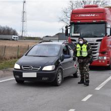 Pasienyje su Baltarusija darbą atnaujins trys kontrolės punktai, karantino tvarkoje – pasikeitimai