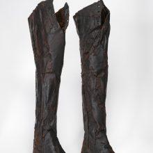 Archeologinės avalynės rekonstruktorius: iš batų žinodavai, kaip žemai reikia lenktis