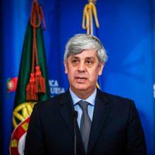 Eurogrupės vadovas M. Centeno traukiasi iš pareigų