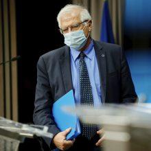 ES: Izraelio ir Palestinos smurtas turi nedelsiant liautis