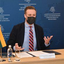 Politologai: G. Landsbergio sprendimas vidaus politikos klausimais likti nuošalyje – pasiteisina