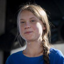 Klimato aktyvistei G. Thunberg – Tarptautinė vaikų taikos premija