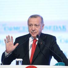 Turkija E. Macronui: pasitikrinkite, ar jūsų nėra ištikusi smegenų mirtis