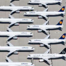 """Vokietija ir ES artėja prie susitarimo dėl paramos """"Lufthansa"""" avialinijoms"""