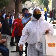 Meksika pagal mirčių nuo COVID-19 skaičių pakilo į ketvirtą vietą pasaulyje