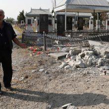 Armėnija ir Azerbaidžanas skelbia humanitarines paliaubas