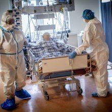 Santaros klinikose gydomi 163 COVID-19 sergantys pacientai, iš jų penki – vaikai