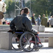 Aiškinsis, kokie veiksniai skatina ir riboja neįgaliųjų įdarbinimą