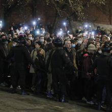 Rusijoje per A. Navalno palaikymo akcijas sulaikyta daugiau kaip 1,7 tūkst. žmonių