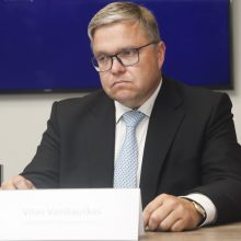 Lietuvos banko pirmininkas: bankų mokestis užrakins rinką, mokestį galima apeiti
