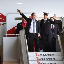 Australijos bendrovės lėktuvas atliko ilgiausią istorijoje skrydį be nusileidimo