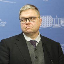 V. Vasiliauskas nesieks finansų ministro kėdės