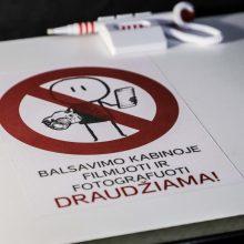 Kelmės ir Trakų rajonų merų rinkimuose trečiadienį prasideda išankstinis balsavimas