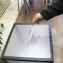 Trakų ir Kelmės rajonai renka merus: iš anksto balsavo 5,87 proc. rinkėjų