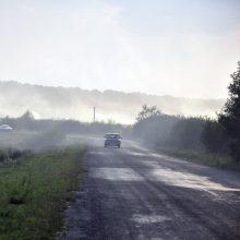 Eismo sąlygas pietvakarių Lietuvoje ir Šiaulių apskrityje sunkina rūkas