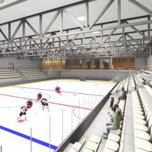 Aiškėja, kaip gali atrodyti nauja Vilniaus ledo arena