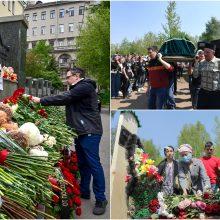 Rusijoje minima gedulo dėl šaudynių mokykloje diena