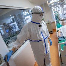Vilnius COVID-19 ligoniams skiria papildomą ligoninės korpusą