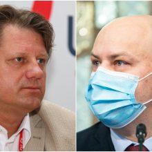 """A. Veryga dėl S. Čaplinsko kreipėsi į """"Sodrą"""": prašo įvertinti, ar nepiktnaudžiaujama nedarbingumu"""