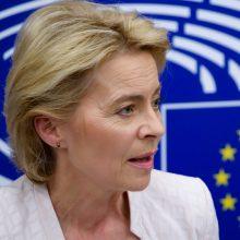 Išrinktoji EK vadovė žada steigti kovos su klimato kaita fondą