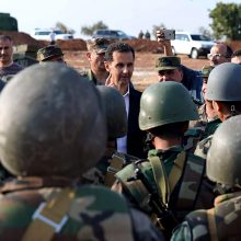 Sirijos prezidentas: Turkijos veiksmai Sirijoje gali sukelti etninį konfliktą regione