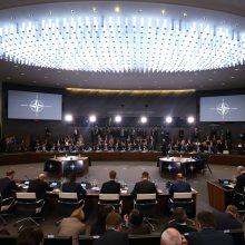 """Prancūzija ir Vokietija po ginčo dėl """"smegenų mirties"""" siūlo planus NATO"""