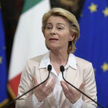 Europos Komisijos vadovė U. von der Leyen: už Europą kovosiu visomis išgalėmis