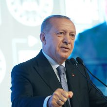 R. T. Erdoganas: Turkija atvira diskusijai, tačiau laikysis ryžto