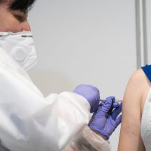 A. Dulkys: dėl šeštosios dozės vakcinavimo tempai gali sulėtėti
