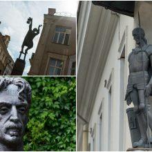 Sostinės skulptūros: kokias istorijas jos pasakoja?