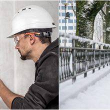 Dėl iškritusio gausaus sniego elektros vis dar neturi 14 tūkst. namų ūkių