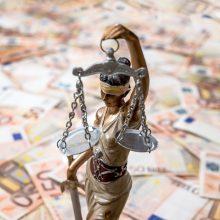 Siūloma papildomų lėšų teismams, nagrinėjantiems pabėgėlių bylas