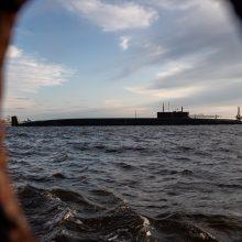 """Rusijos atominis povandeninis laivas """"Kniaz Vladimir"""" perduotas kariniam laivynui"""