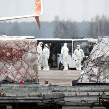 Baltarusija ir Azerbaidžanas pranešė apie pirmus koronaviruso atvejus