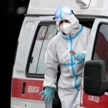 Koronavirusas Rusijoje: per parą nustatyti 6 422 nauji atvejai