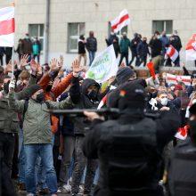 Baltarusijoje per sausį paskelbta beveik 50 nuosprendžių politinėse bylose