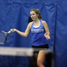 Tenisininkė J. MIkulskytė Egipte žengė į dvejetų varžybų finalą