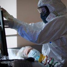 Čekijoje 9,2 tūkst. žmonių infekuoti koronavirusu