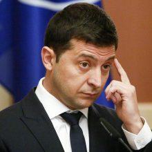 V. Zelenskio liaupsės Ukrainai: ji – nešlifuotas deimantas Europos centre