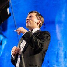 M. Barkauskas: kilniausia orkestro misija – skleisti taikos žinutę