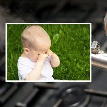 Nelaimė Panevėžyje: vienerių metų vaikas ant savęs užsivertė virdulį su karštu vandeniu