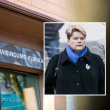 """""""Vaisingumo klinikos"""" skandalas: A. Brazausko dukrai – specialiojo liudytojo statusas"""
