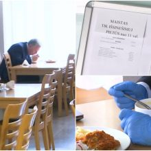 Kavinėje nelegaliai pietavo Seimo nariai, o baudą skirs tik kavinės vadovams?
