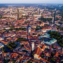 Pokyčiai sostinėje: Paupio gatvėje – eksperimentinis eismo valdymas