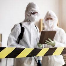 PSO ekspertas: kol kas pergalės prieš virusą dar nematyti
