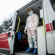 Nauji COVID-19 atvejai: protrūkiai registruoti Marijampolės ligoninėje, slaugos namuose, įmonėse