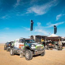 """""""Agrorodeo"""" komandai ilgiausias Dakaro greičio ruožas neprailgo"""