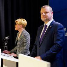 I. Šimonytė tikisi, kad Ministrų Kabinetas rudens iššūkiams pasiruoš geriau nei buvusi Vyriausybė