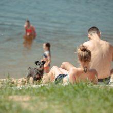 Vilniečių paplūdimiuose lauks nemokami saugaus elgesio renginiai
